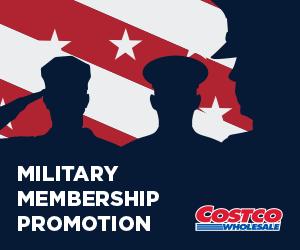 Costco Military Membership Promotion