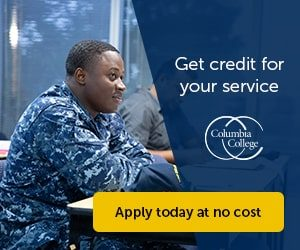 Columbia College Veterans Day Offer